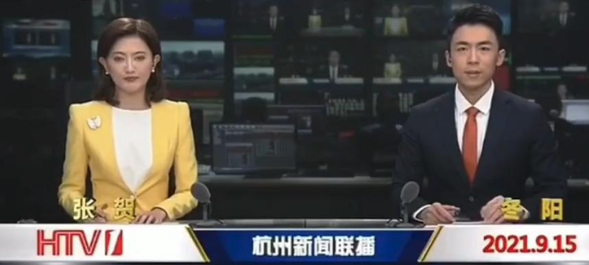 人有时都会紧张的,杭州新闻联播发生播出事故